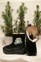 Отдается в дар Ботинки зимние детские 27 размер