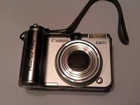 Отдается в дар Фотоаппарат Canon PowerShot A610 (нерабочий)