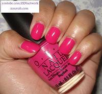 Отдается в дар Opi Pink Flamenco лак для ногтей