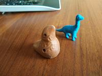 Свистулька и динозавр