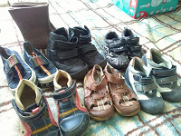 Отдается в дар Обувь мальчишачья