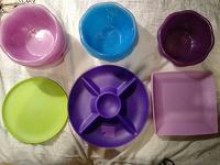 Отдается в дар Пластиковая посуда (многоразовая)