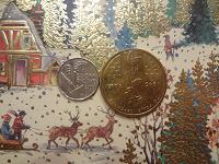 Отдается в дар ландыш и маки на монетах