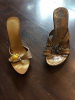 Отдается в дар Летняя обувь на каблуке