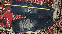 Отдается в дар Утепленные флисом джинсы на мальчика