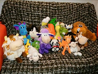 Отдается в дар Детские игрушки, сумки, рюкзак-обезьяна