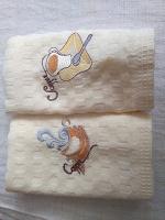 Отдается в дар Вафельные полотенца для кухни
