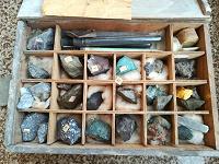 Отдается в дар Коллекция металлургических образцов