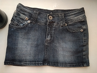 Отдается в дар Джинсовая юбка с карманами