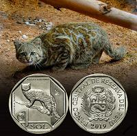 Отдается в дар Андская кошка. 1 соль Перу