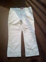 Отдается в дар Очень светло-серые джинсы 3/4 ноги 46-48