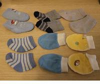 Отдается в дар носочки/царапки для недоношенных детей