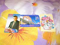 Отдается в дар карманные календарики 2001г
