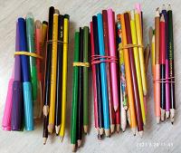 Отдается в дар Цветные карандаши.