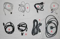 Отдается в дар Снова кабели USB для смартфонов и телефонов