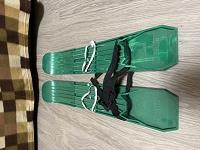 Отдается в дар Детские лыжи пластиковые