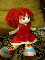 Отдается в дар Мягкая кукла.