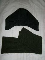 Отдается в дар Капюшон и шарф