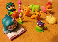Отдается в дар Мелкие игрушки, киндеры