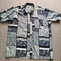 Отдается в дар Мужская рубашка, 64 размер