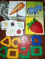 Отдается в дар Для маленьких кубики