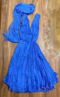 Отдается в дар Роскошное платье, размер S