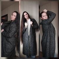 Отдается в дар Пальто Zara серое 48-50 размер