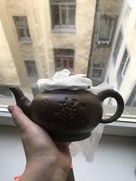 Отдается в дар Чайник из глины