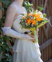 Отдается в дар Платье свадебное/вечернее короткое 42