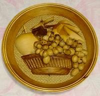 Отдается в дар Панно «Корзина с фруктами»
