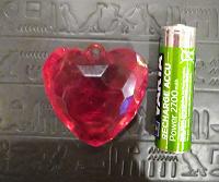 Отдается в дар Пластмассовый рубин