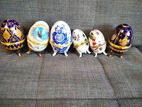 Отдается в дар Яйца-шкатулки. Для коллекционирования