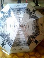 Отдается в дар Элегантный дамский зонт трость