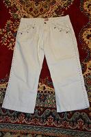 Отдается в дар Бриджи джинсовые женские 48 размер