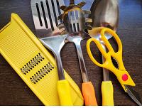 Отдается в дар Набор ярких аксессуаров для кухни