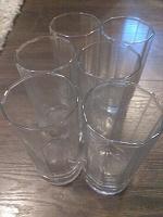 Отдается в дар Шесть стаканов