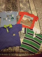Отдается в дар футболки для мальчика часть 2