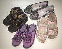 Отдается в дар Пакет обуви на девочку на 31-32 размер