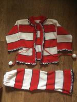 Отдается в дар Вязанный комплект (кофточка и штанишки)