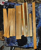 Отдается в дар Линейки деревянные разные