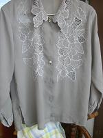 Отдается в дар вышитая блуза