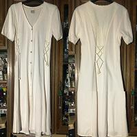 Отдается в дар Платье-халат трикотаж длинный, р-р 46