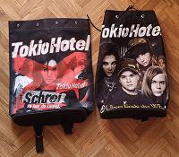 Отдается в дар Футболка и 2 рюкзака Tokio Hotel