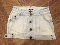Отдается в дар Юбка джинсовая Oodji