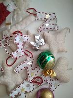Отдается в дар Новогодние игрушки из фетры