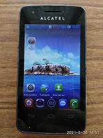 Отдается в дар Смартфон Alcatel