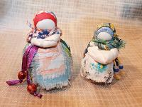 Отдается в дар славянские обережные куклы-мотанки