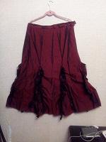 Отдается в дар Комплект (майка и юбка) р-р 54-56 — для танцев и мероприятий. Повседневно — только для очень смелых))))