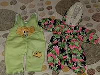 Отдается в дар Детская одежда до года