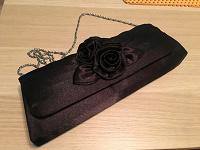 Отдается в дар Чёрный женский клатч